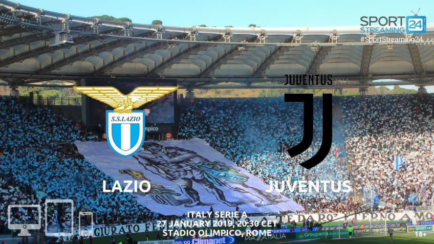 lazio juventus live streamingg video serie a