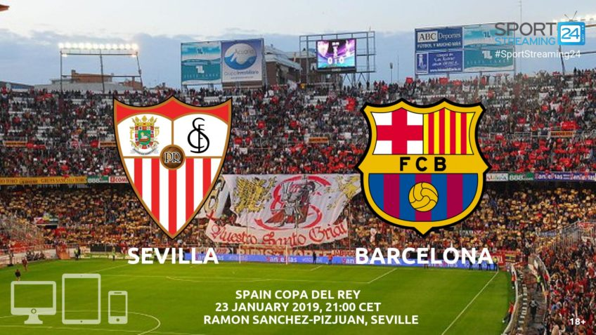 sevilla barcelona live streaming football spain