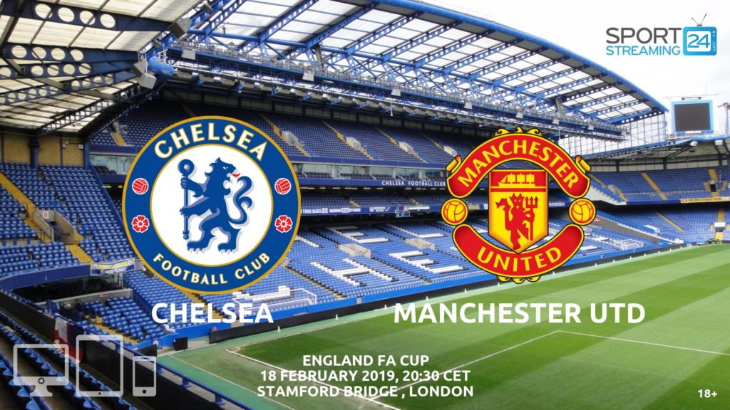 Thumbnail image for Chelsea Manchester United Live Stream | FA Cup