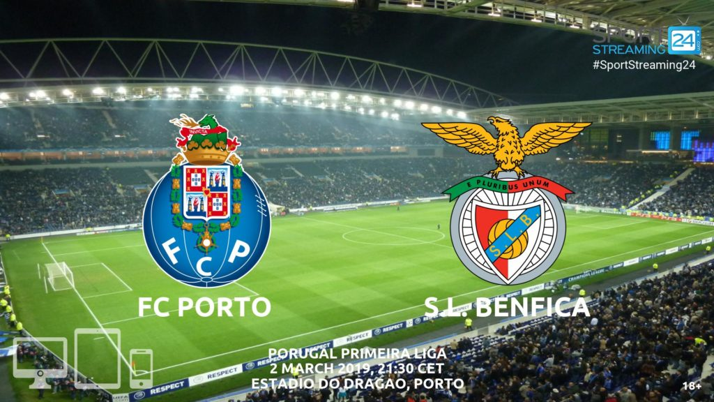 Thumbnail image for Porto vs Benfica Live Streaming | Primeira Liga