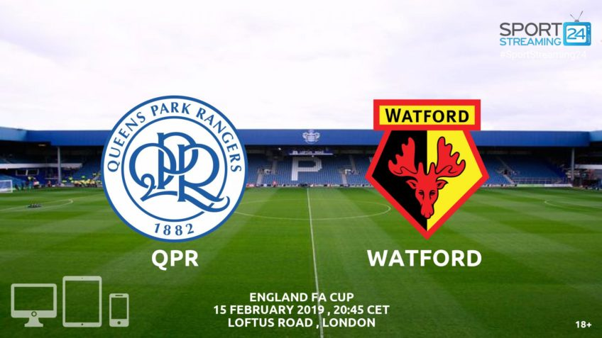qpr watford live streaming video online