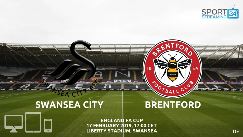 Thumbnail image for Swansea Brentford Live Streaming 🖥️ | FA Cup