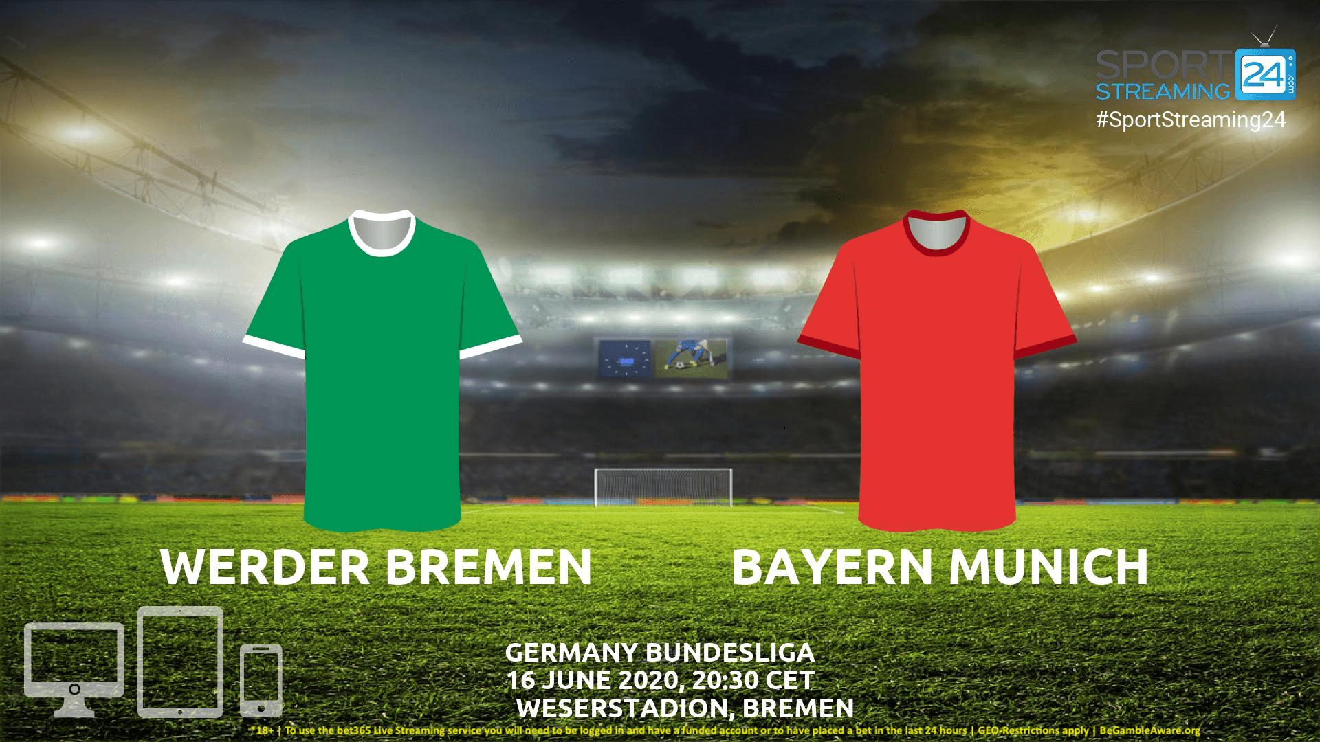 Bremen Vs Bayern Live Stream